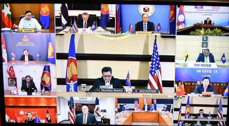 Co-Chairs' Statement of the Special ASEAN-United States Foreign Ministers' Meeting on Coronavirus Disease 2019 (COVID-19)