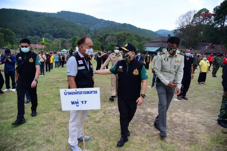 Officials seek public cooperation to stop Doi Inthanon forest fire
