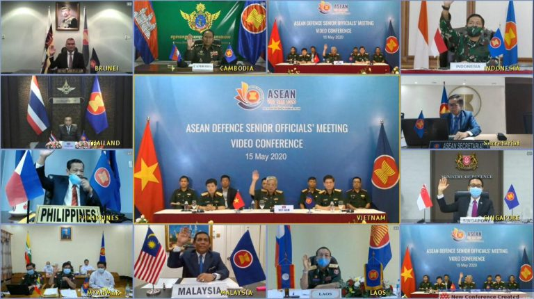 ASEAN Defence Senior Officials's Meeting (Video Conference), 15 May 2020