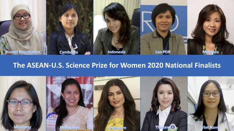 Finalists for 2020 ASEAN-U.S. Science Prize for Women announced